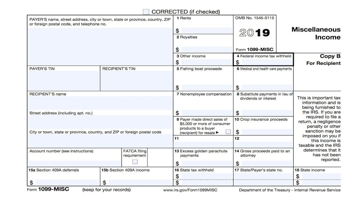 Information returns – What You Should Know About Form1099