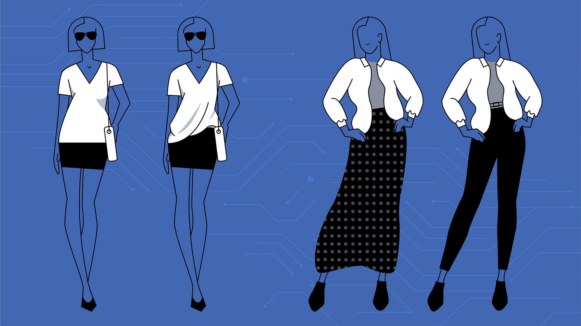 How is Facebook helping people in augmenting their fashion knowledge?